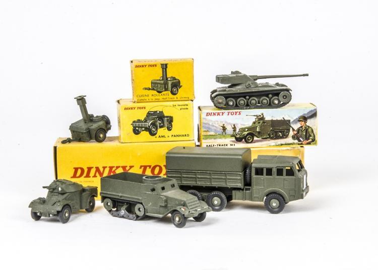 80 D Berliet tous Terrain militaire REPRO BOX DINKY n