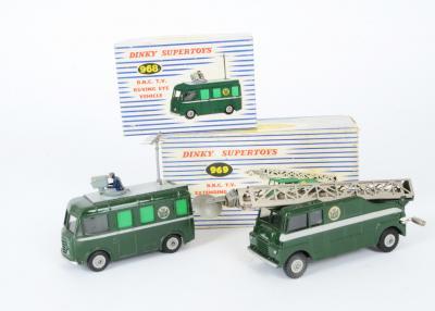 Dinky Toys 969 BBC TV Mast Truck Window Unit